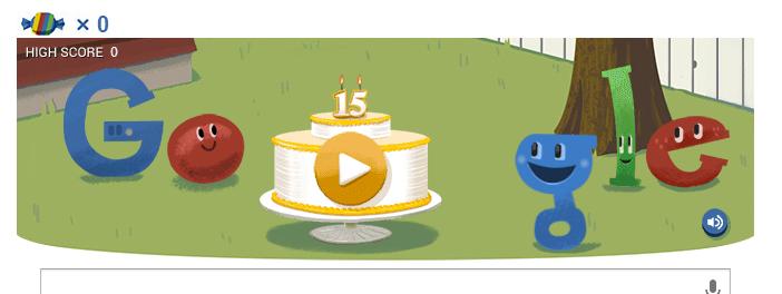 15 urodziny Google Doodle
