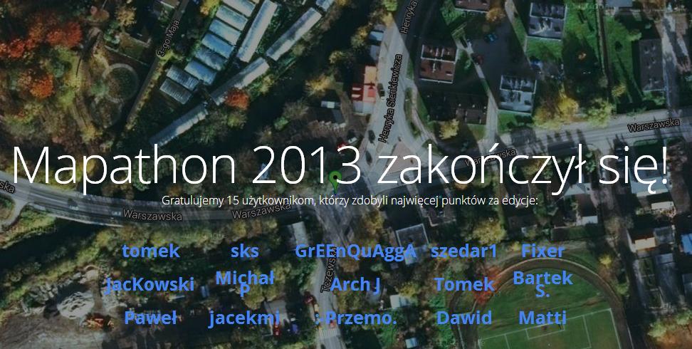 mapathon, wzorzec grywalizacji