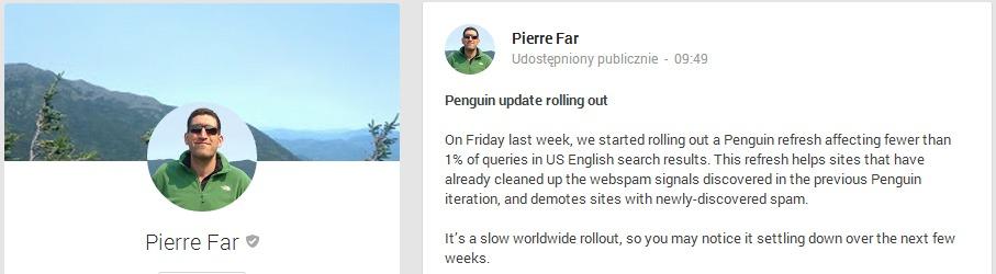 Penguin update 3.0 potwierdzony
