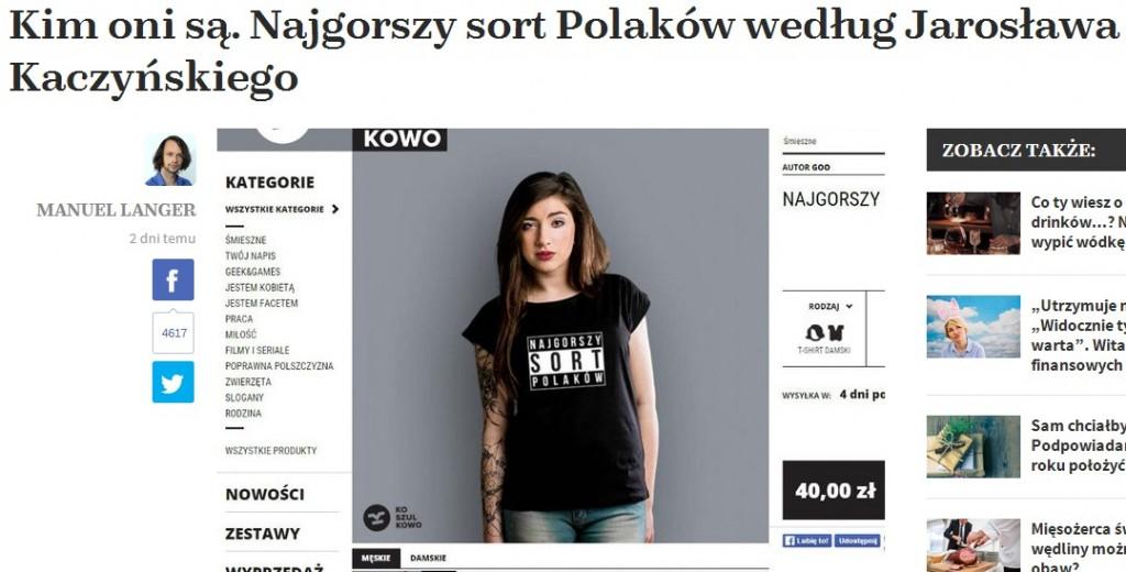 Koszulkowo.com w naTemat.pl