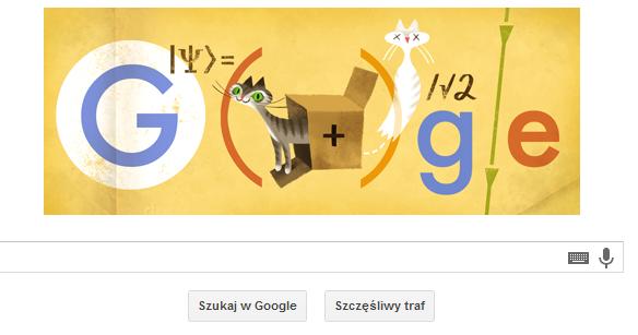 Doodle Erwin Schrödinger