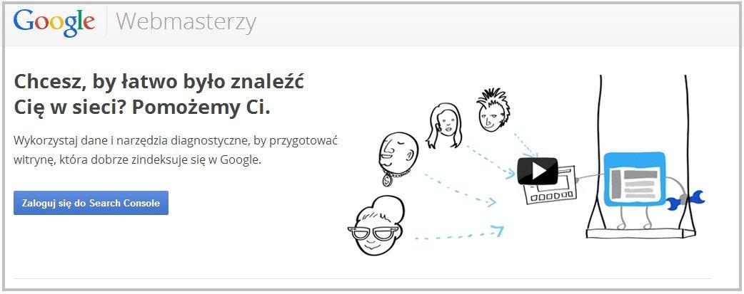 Konsola Google dla Webmasterów